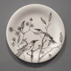 Honeyeaters - handpainted porcelain, diameter 26cm
